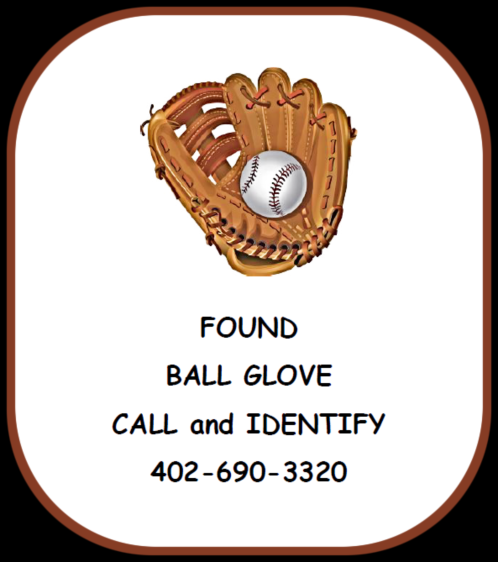 2018 07 25 FOUND BALL GLOVE 1