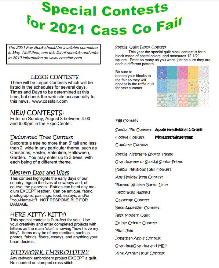Cass Fair 2021
