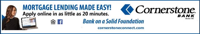 Coprnerstone Bank Principal Sponsor