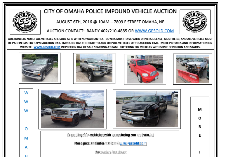 new auction 0806