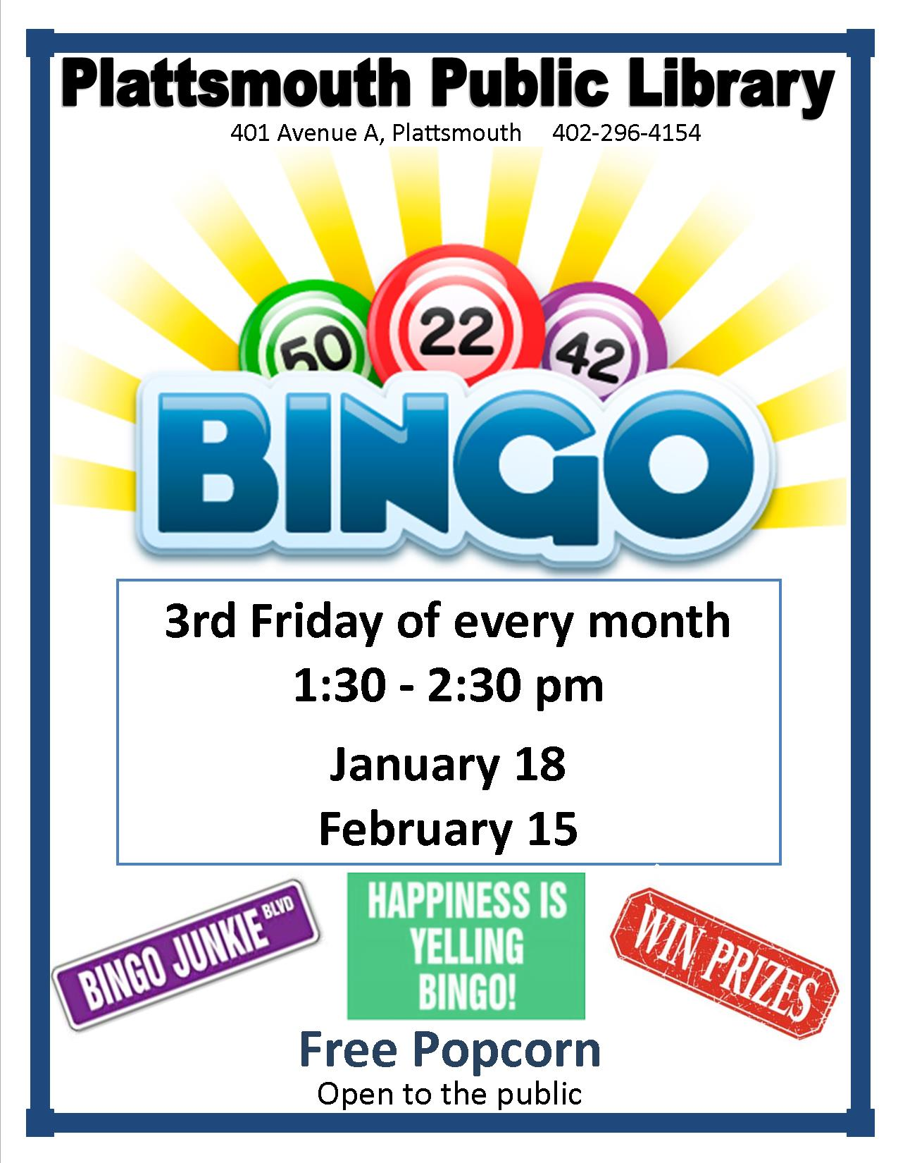 Bingo Jan.Feb