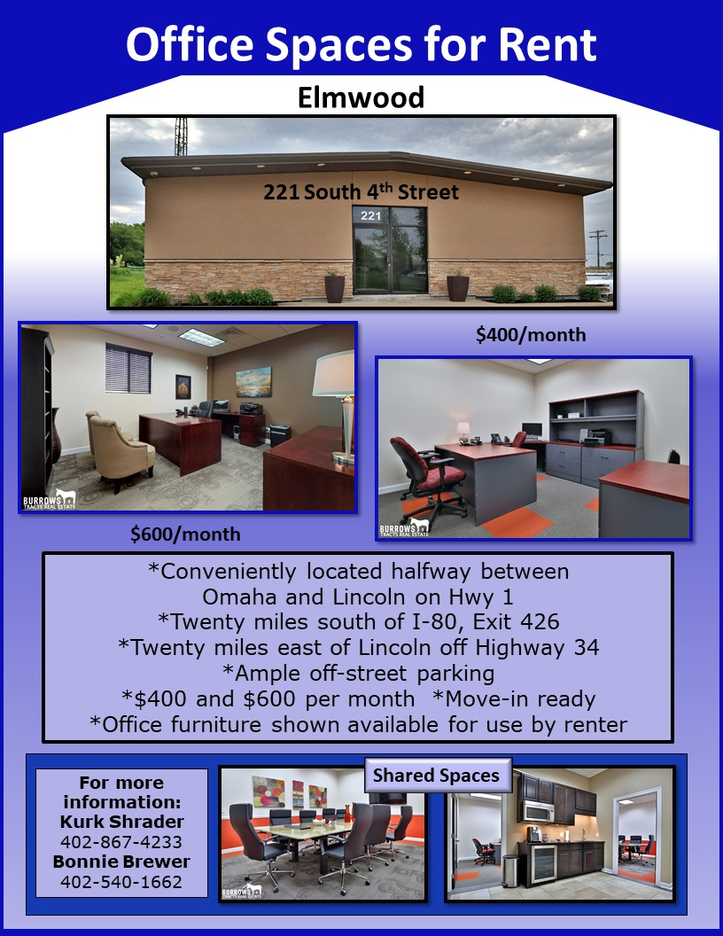 Office Spaces for Rent Flyer Sep 13