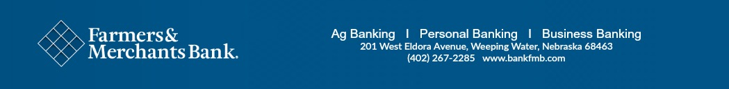Farmers and Merchants Bank Principal Sponsor