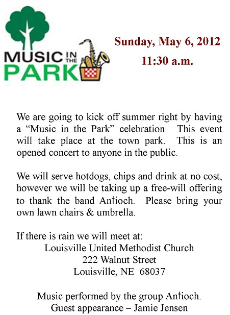Music In The Park 2012